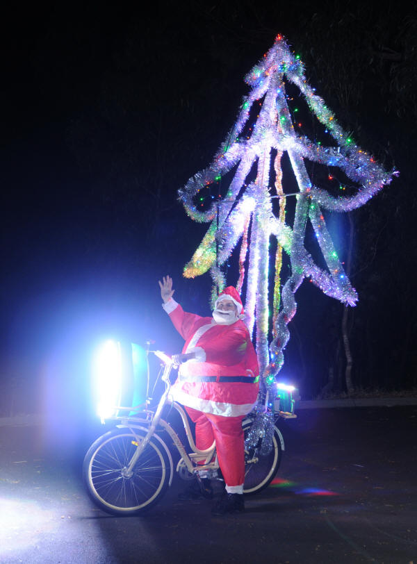 Xmas bike full on