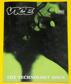 Vice Magazine cover