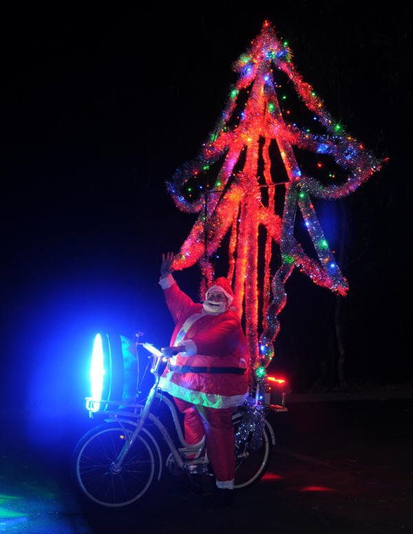 Xmas Santa Bike Media version