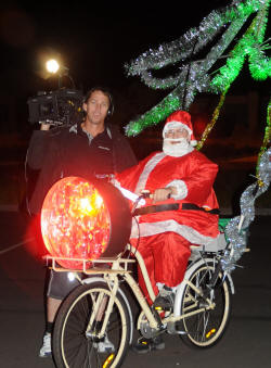 LED BIKE Xmas shoot wrap